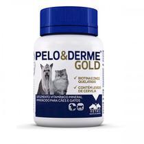 Pelo & Derme Gold (60g/60 comprimidos) - Vetnil -