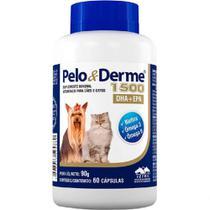 Pelo e Derme 1500 mg - 60 comprimidos - Vetnil