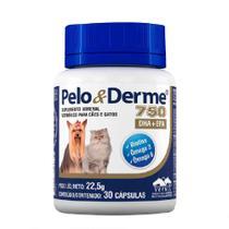 Pelo e Derme 750 mg - 30 comprimidos - Vetnil