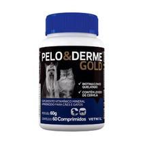 Pelo E Derme Gold 60 Comprimidos - Vetnil -