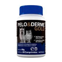 Pelo e Derme Gold com 60 Comprimidos - Vetnil -