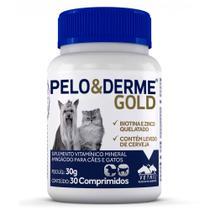 Pelo e Derme Gold Vetnil  30 Comprimidos -