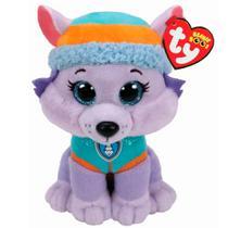 Pelúcia - 25 Cm - Ty Beanie Boss - Patrulha Canina - Everest - DTC -