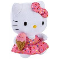 Pelúcia Beanie Babies Hello Kitty Sorvet 20cm - DTC -