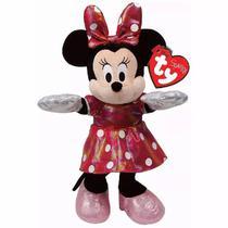 Pelucia Beanie Babies Minnie PINK Brilhante DTC 3718 -