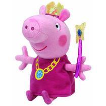 Pelucia Beanie Babies Peppa PIG Princesa DTC 4535 -