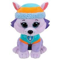 Pelúcia Beanie Boos Ty Patrulha Canina Everest Dtc 4927 50cm -