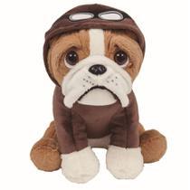 Pelúcia Bulldog Aviador - Buba -