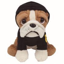 Pelúcia Bulldog Policial - Buba -