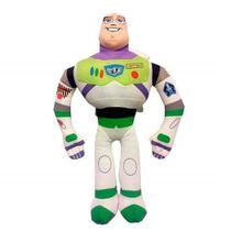 Pelúcia Buzz Lightyear Toy Story 30cm com Som Alimentação por 2 baterias AG13 Indicado para +3 Anos Multikids - BR388 -