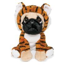 Pelúcia Cachorro Pug Tigrinho 22cm 6151 Buba -