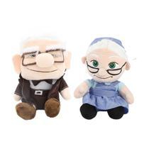 Pelucia Carl e Ellie do Filme Up Altas Aventutas da Disney Pixar - Mundo Da Pelúcia