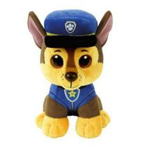 Pelúcia chase ty patrulha canina médio - dtc 4511 -