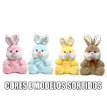 Pelúcia de Páscoa - 15 Cm - Coelhos Kids com Laço - Sortidos - Cromus -