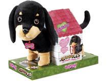 Pelúcia Fun Adotados Fur Balls Pets Salsicha - F00197