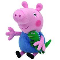 Pelúcia George com Dinossauro Peppa Pig - DTC -