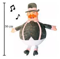 Pelúcia Grande Mundo Bita Com Sons 50cm Fun Divirta-se 82627 -