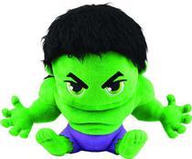 Pelúcia Hulk Vingadores 22cm - Dtc