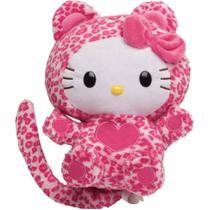 Pelúcia Interativa - Hello Kitty Rindo à Toa - Rosa - DTC -