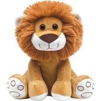 Pelúcia Leão Antialérgica Baby e Decoração Leãozinho bebê de 25cm - Buba