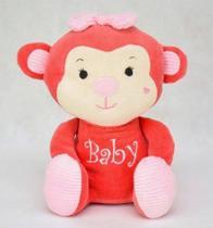 Pelúcia Macaca Kika Zip Toys Coral -