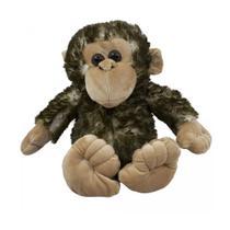 Pelúcia Macaco Super Macio 31cm Top - Drina