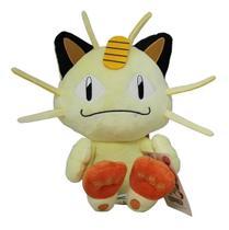 Pelúcia Meowth Miau Pokémon Importada Tomy 23 Cm Original -