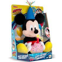 Pelucia Mickey Happy Birthday BR375 - Multikids - Multilaser