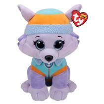 Pelúcia Patrulha Canina - Everest - 40 cm - Beanie Boos - DTC -