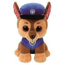 Pelúcia - Patrulha Canina - TY Beanie Boos - Chase - 25 cm - DTC -