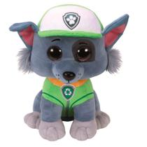 Pelúcia - Patrulha Canina - TY Beanie Boos - Rocky - 25 cm - DTC -