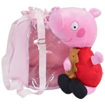 Pelúcia Peppa Pig e Bolsa Rosa - Moderna Meninas