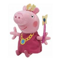 Pelúcia Peppa Pig Princesa 27cm Ty 4536 Dtc -