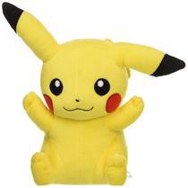 Pelúcia Pokémon Pikachu Sério - 20cm - Tomy -