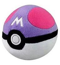Pelúcia Pokémon Pokebola Master Ball - Tomy -