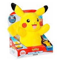 Pelúcia Pokémon Power Action Pikachu 4851 - Dtc