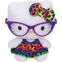 Pelúcia Ty Beanie Babies Hello Kitty Óculos - DTC -