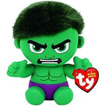 Pelúcia Ty Beanie Babies Original Marvel Hulk - Dtc