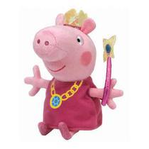 Pelúcia Ty Beanie Babies Peppa Pig 20 Cm - Dtc