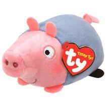 Pelúcia Ty Teeny Tys George Da Peppa Pig Dtc -