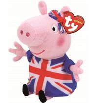 Pelúcia Union Jack Peppa Pig - DTC -