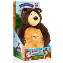 Pelúcia Urso com som Masha e o Urso Estrela -