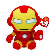 Pelucia Vingadores Marvel - Homem de Ferro TY - DTC -