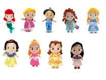 Pelucias Princesas Disney DTC 4344 -