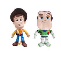 Pelucias toy story 4 disney dtc - kit c/ woody e buzz -