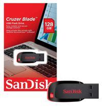 Pen Drive 128gb Cruzer Blade Sandisk -
