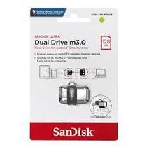 Pen Drive 128gb Dual Drive Usb 3.0 e Micro-Usb Sandisk -