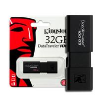 Pen Drive 32GB USB 3.1 Kingston - DT100G3/32GB