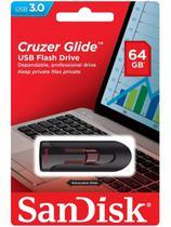 Pen Drive 64gb Cruzer Glide USB 3.0 Z600 Sandisk -