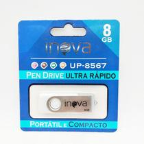 Pen drive 8GB Inova Branco -